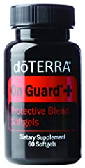 Encapsulated in vegetarian softgels, doTERRA On Guard+ contains essential oils known for their positive effects on the immune system, particularly when seasonal threats are high Supports healthy immune and respiratory function Protects against enviro...