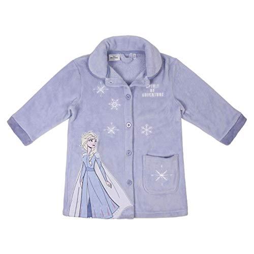 CERDÁ LIFE'S LITTLE MOMENTS Bata de Casa Frozen-Licencia Oficial Disney, Lila, 06A para Niñas