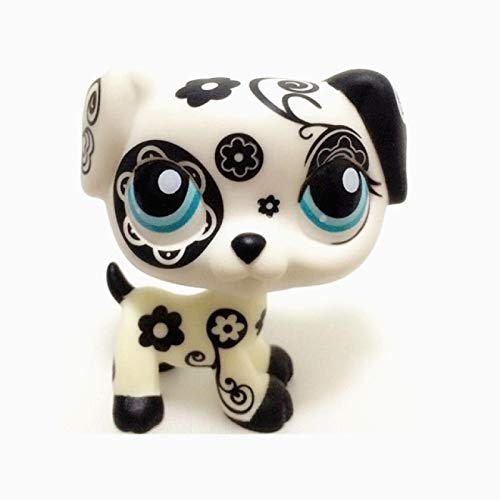 KIPB Lps Cat Pet Shop Toy Series Pink Cute Shorthair Cat Color Tiger Cat Big Dan Dog Shepherd Action Toy Hobby Collection Gift 64