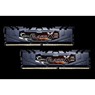G.SKILL 16GB (2 x 8GB) Flare X Series DDR4 PC4-23400 2933 MHz 288-Pin Desktop Memory Model F4-2933C16D-16GFX