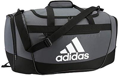 adidas Unisex Defender III Small Duffel Bag, Team Onix, Small