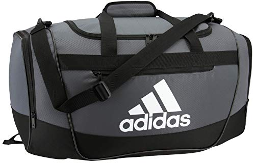 adidas Defender III medium duffel Bag, Onix/Black/White, One Size