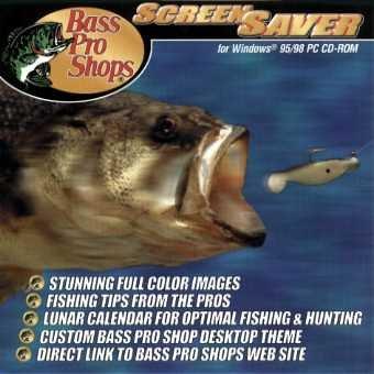 BASS PRO SHOPS SCREEN SAVER & LUNAR CALENDAR