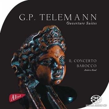 G.P. Telemann, Ouverture Suites