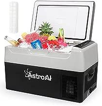AstroAI Portable Freezer Car Refrigerator 23 Quart 12V Car Freezer Travel Fridge 22L (-4℉~68℉) Compressor Refrigerator for Truck, RV, Boat and Camping,12/24V DC and 100-240 AC
