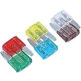 Gfhrisyty 35 piezas Hoja MIXTA Fusible AUTO Autos Motos 5 7,5 10 15 20 25 30 AMP