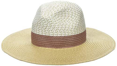 Dorothy Perkins Colour Block Fedora Sombrero, Multicolor (Multi 220), Talla única (Talla del Fabricante: One) para Mujer