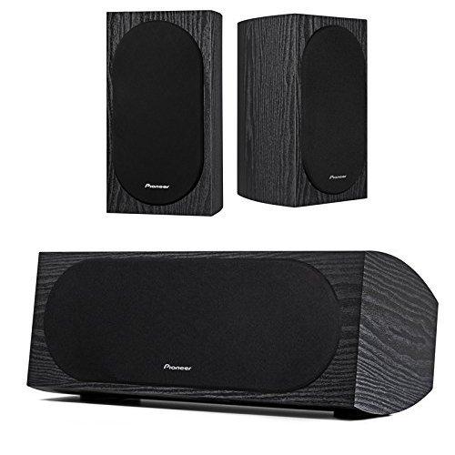 Purchase Pioneer SP-BS22-LR Andrew Jones Designed Bookshelf Loudspeakers with Pioneer SP-C22 Andrew ...