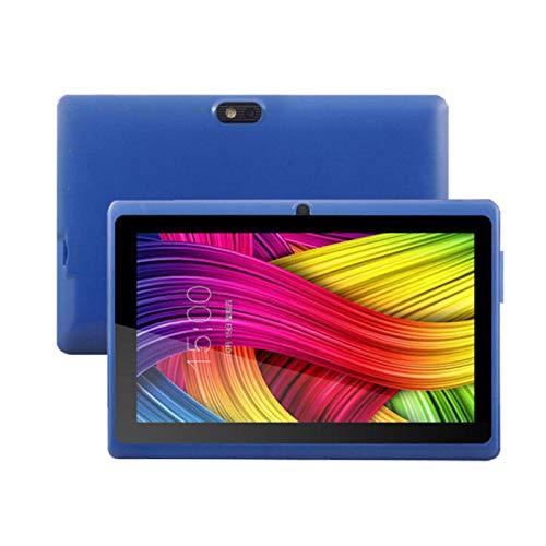 HJGHY Tablet 7 Pulgadas, Android 4.4 Tablet PC con 1GB + 8GB RAM, WiFi, Bluetooth, Quad-Core, Memoria Expandible (Tarjeta TF) 32GB,Azul
