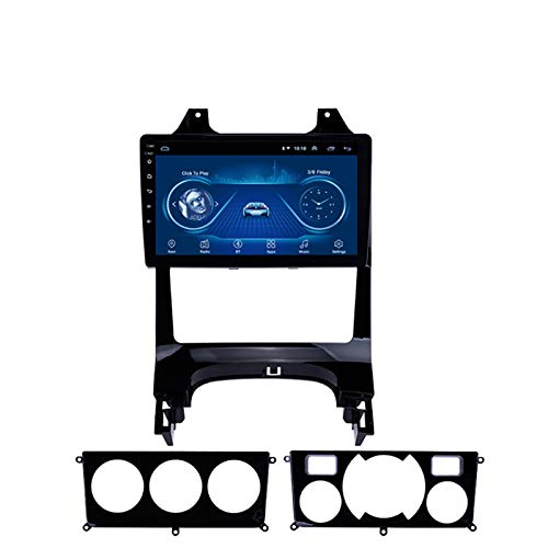 YLCCC Unidad de Cabeza estéreo GPS Adecuado para Peugeot3008 2013-2018 Coche Estéreo Sat Nav Capacitivo Touch HD Carplay WiFi Sistema de Radio Incorporado Tracker,4Core 4G+WiFi:2+32G