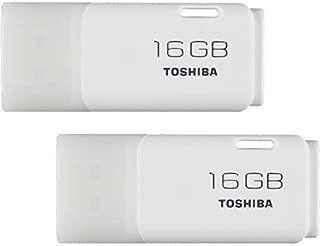 2個セット 東芝 TOSHIBA 16GB USBフラッシュメモリ Windows/Mac対応 【3年保証】 [並行輸入品]
