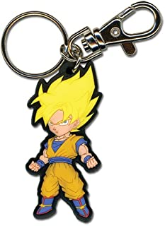 Great Eastern Entertainment Dragon Ball Z SS Goku PVC Keychain