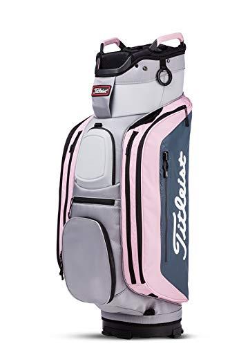 Titleist Club 14 Golf Bag Sleet / Charcoal / Petal