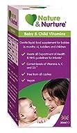 Nature & Nurture Baby & Child Vitamins. The Vegan-Friendly Gentle Liquid multivitamin for Babies, To...