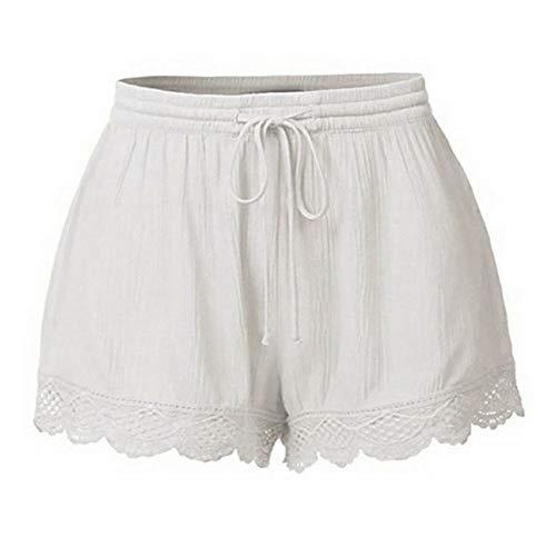 Yoga Hosen Damen Hippie Kurze Hosen Damen High Waist Bund Casual Sommerhose Sommer Short Lässige Shorts Kurze Hosen Damen High Waist
