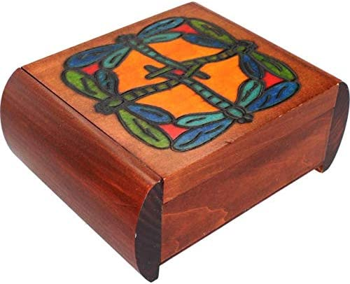 Enchanted World of Boxes Complete Free Shipping Dragonfly Box Secret Ranking TOP6 - Brown