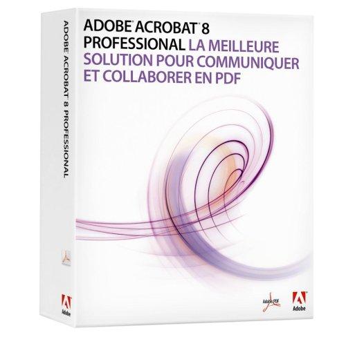 Adobe Acrobat 8 Professional Upgrade von Adobe Acrobat Professional (Versionen 6 und 7) französisch