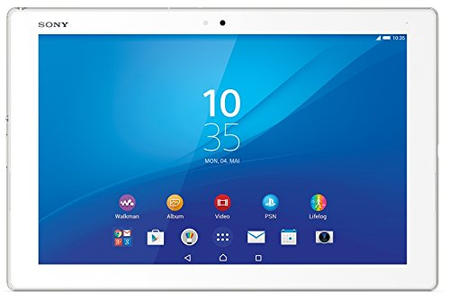 Sony Xperia Z4 Tablet-PC WiFi (25,6 cm (10,1 Zoll) TFT-Display, Octa-Core-Prozessor, 8,1 Megapixel-Kamera, 32 GB interner Speicher, Android 5.0) weiß