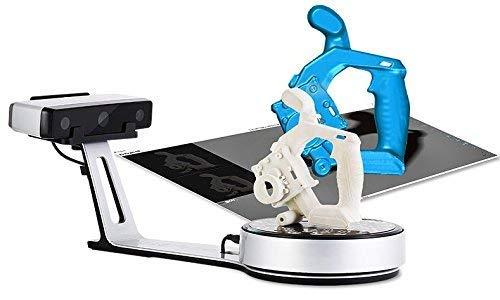 EinScan TOPLUS -SP Weißlicht-Desktop-3D-Scanner, 0,05 mm Genauigkeit, 4s Scan-Geschwindigkeit, 1200 mm kubisches maximales Scan-Volumen, fester/automatischer Scan-Modus, Compelete Desktop 3D-Scanner
