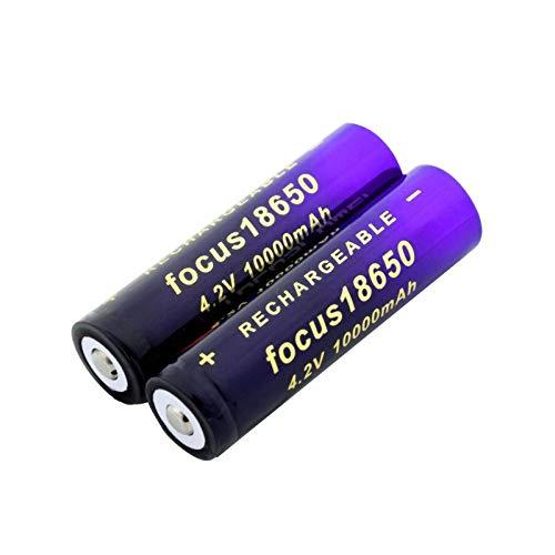NHFGJ 2/4 Uds 18650 Batería De Litio 10000mah Batería Recargable De Iones De Litio para Banco De Energía Linterna Led Antorcha Gamepad 4pcs