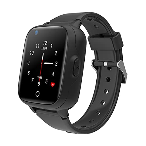 Smart-Watches Kids Android iOS 4G SIM-Card GONITE Video Call Smartwatch Mini Teléfono GPS SOS Anti-Perdido Tracker,B