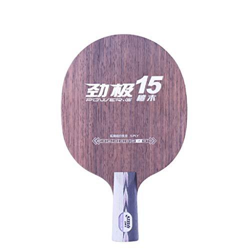 DHS Professional Ping Pong Paddle, Raquetas Pro Premium,  para Torneos, con Bolsa De Almacenamiento, para Intermedio Y Avanzado