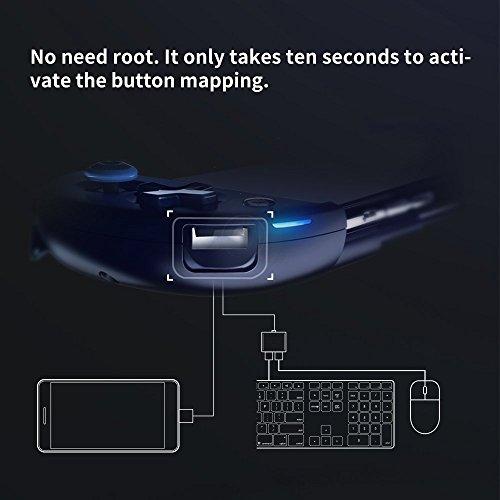 Flydigi Flydigi Wee 2 Wireless Bluetooth Controller Gamepad for Android Telescopic Connecting Joystick Black