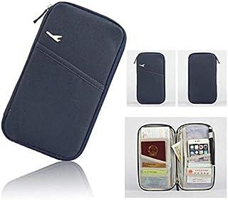 Rubik Multifunction Travel Passport holder, Tickets, Boarding Card, Credit ID Card & Document Organizer Zipper Case Bag, N...