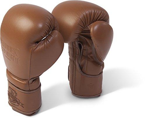 Paffen Sport The Traditional Boxhandschuhe für das Sparring; braun; 16UZ