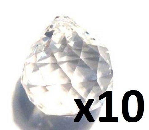 Lot de 10–30 mm Asfour Feng Shui boules de cristal