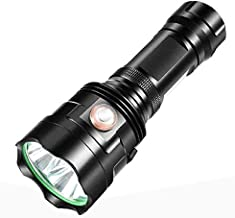 Flashlight Led Flashlight 3*Xhp90 Torch USB Rechargeable Waterproof Lamp Ultra Brigh 2020 New United States/Black
