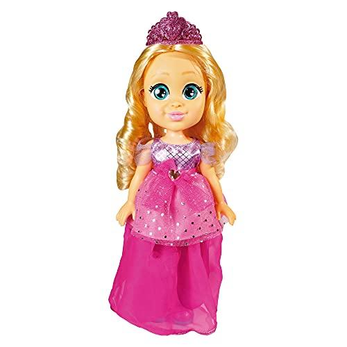 Famosa - Muñeca de Love Diana con vestido transformable de Princesa a Súper Heroína y accesorios de juego, para jugar a las aventuras de Diana, para niñas y niños mayores de 4 años (LVE07000)