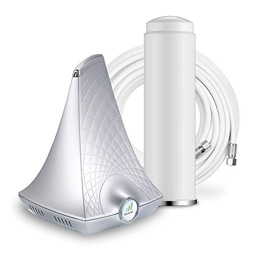 SureCall Flare Cell Phone Signal Booster for Home Omni Antenna Configuration | Integrated indoor antenna for easier install | Covers up to 2500 sq ft | Boosts Voice, data for 4G, LTE, 3G (Renewed)