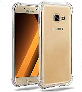 Armor Luxury Shockproof Transparent Phone Back Capinha, Coque, Cover, Case For Samsung Galaxy J5 Prime On5 2016 Silicon Si...