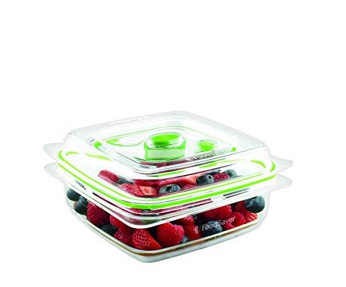 Foodsaver FFC003X Recipiente para envasar al vacío, 700 ml, 0.7 litros, 0 Decibelios, Plástico,...