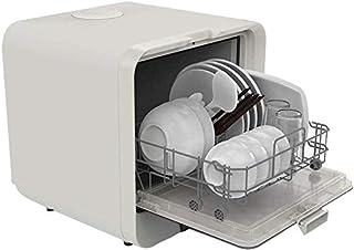 WYZXR Mini lavavajillas de 220V, 4 programas de desinfección rápida de Frutas, 5L de Agua requerida, Control Simple Mesa de operación Lavavajillas Cocina Secadora de Platos