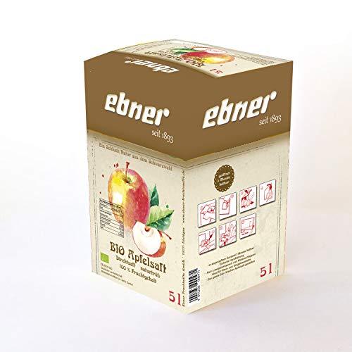 Ebner BIO Apfelsaft Direktsaft naturtrüb 5 Liter DE-ÖKO-003