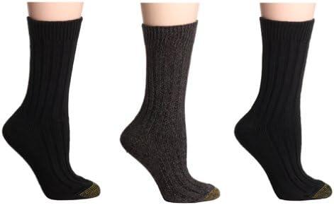 Gold Toe Women's Weekend Socks, 3-Pairs