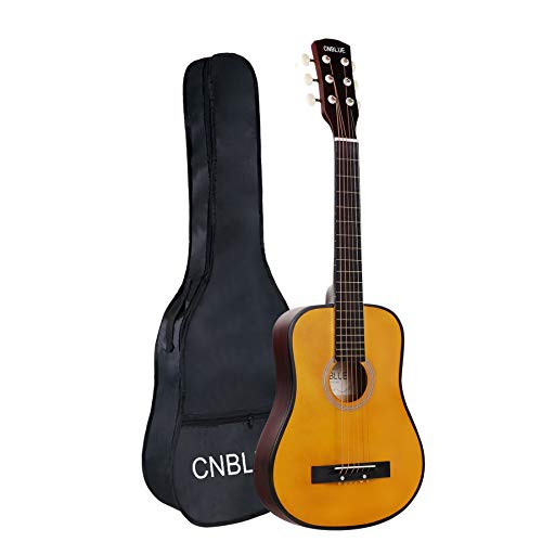 CNBLUE Kid Acoustic Guitar Acoustic Classical Guitar 1/2 Half Size 30 inch Guitar for Beginner Kid Student Boys Girls Guitar Steel Strings with Bag