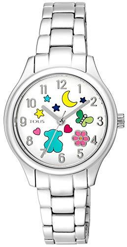Reloj Tous Nit de acero con motivos Ref:900350225