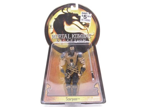 Mortal Kombat Deception Series 1 Action Figure Scorpion by Jazzwares