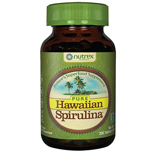 Nutrex, Pure Hawaiian, Spirulina Pacifica, 500mg, 200 Vegane Tabletten