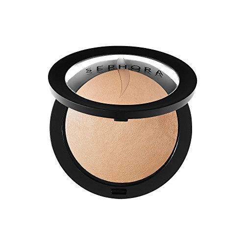 Sephora Collection Microsmooth Baked Foundation Face Powder Color 30 Medium Sand