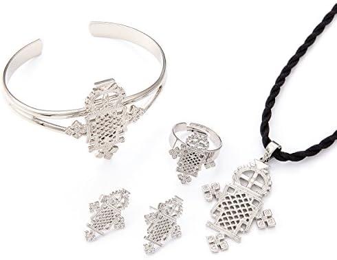 Ethiopian silver jewellery