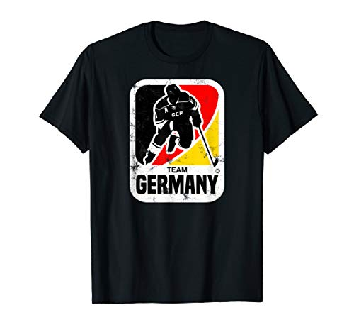 EISHOCKEY DEUTSCHLAND GERMANY TSHIRT VINTAGE