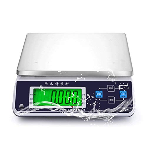 Best Bargain YXYH Waterproof Electronic Scale,Seafood Aquatic Price Commercial Platform Accurate K...