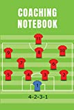 Coaching Notebook: The Ultimate Planner To Create Your Soccer Playbook (Soccer Coach Gifts)