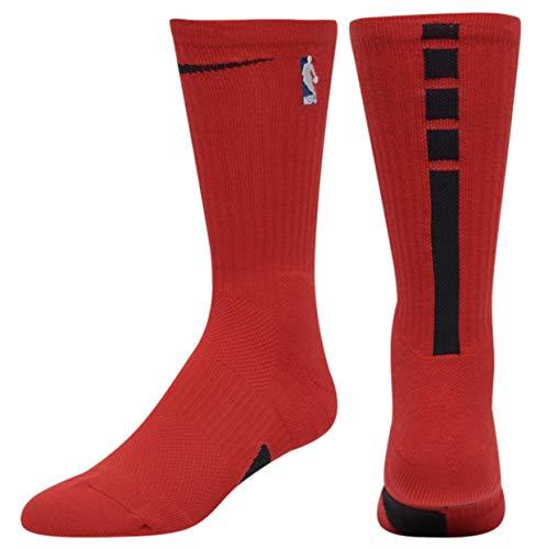 Nike U Jordan Crew - NBA Socks, University red/Black, M