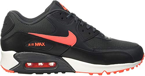 Nike Herren Air Max 90 Leather Gymnastikschuhe - Schwarz (black/black) , 42 EU