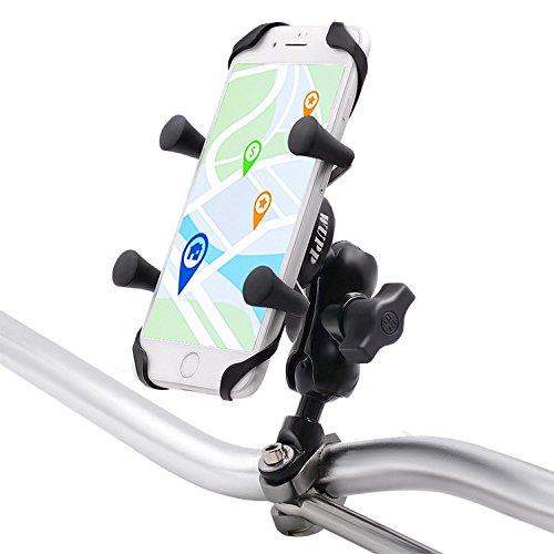 YGL Aluminio Moto Soporte de Montaje para Teléfono Móvil DE 3.5 a 6 Pulgadas, GPS